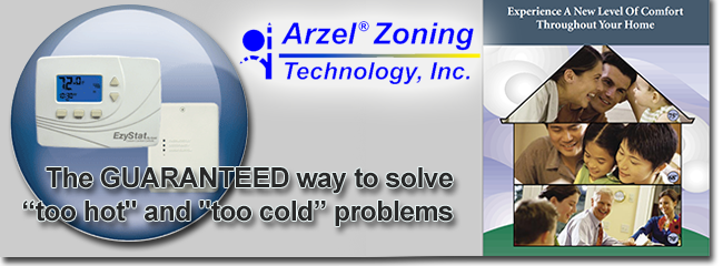 For home comfort in Forest VA, go with an Arzel zoning system!